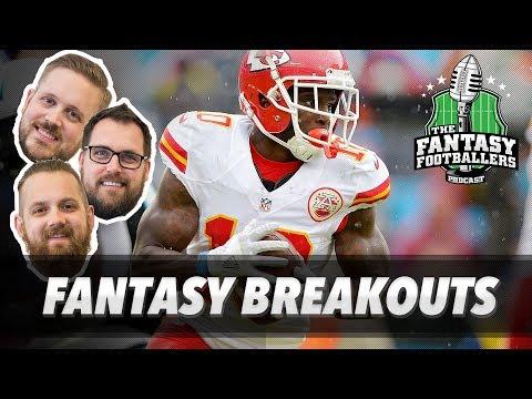 Fantasy Football 2017 - Breakouts + Keep/Trade/Cut - Ep. #421