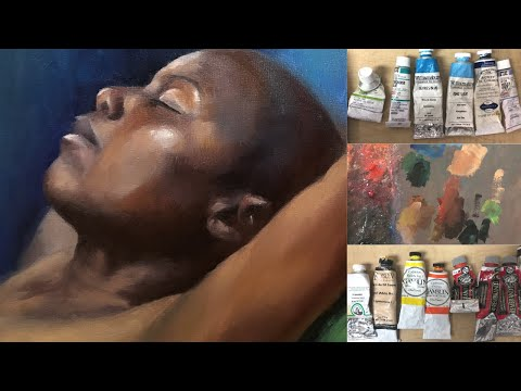 How To Paint Dark Skin Tones From Life In Oil Demo