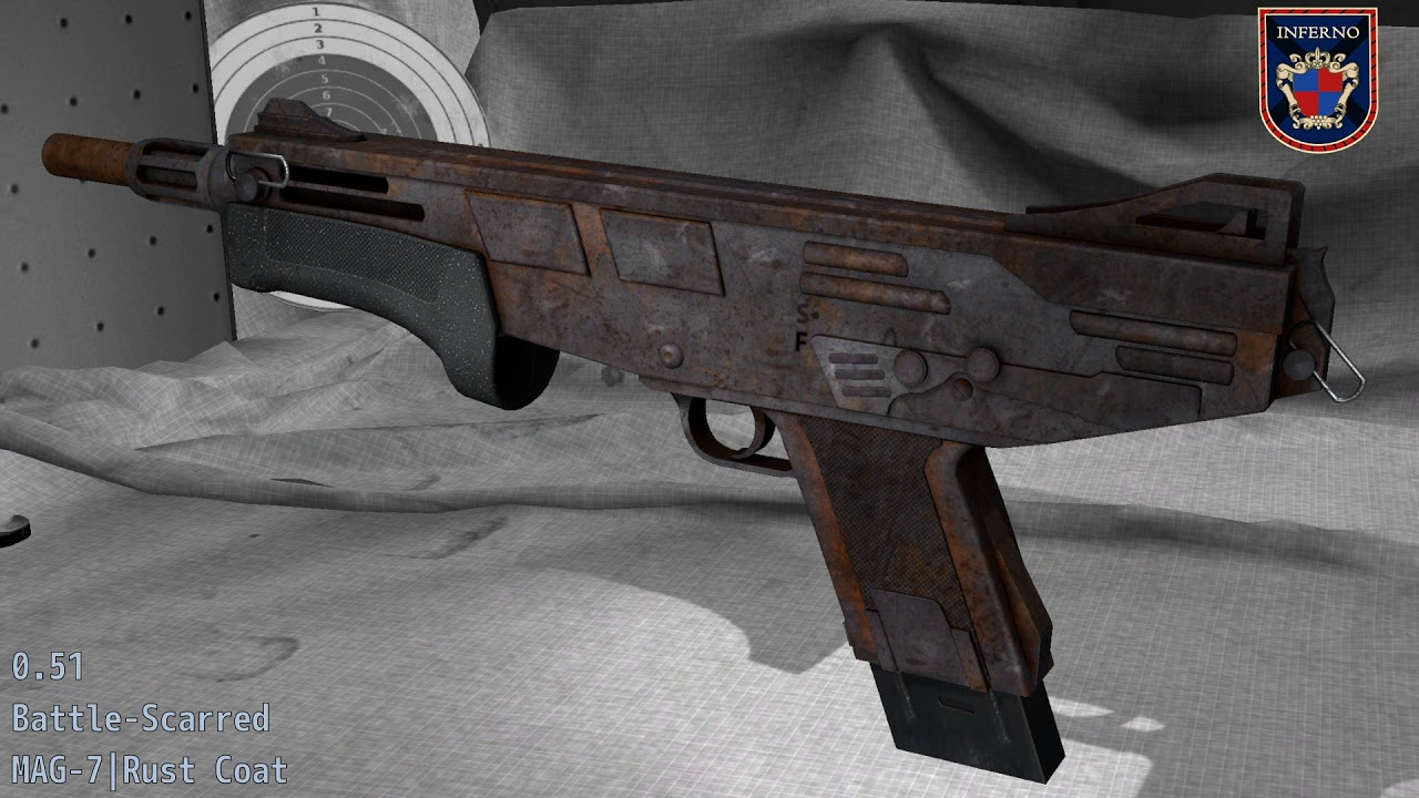 Mag 7 Rust Coat Cs Go Stash