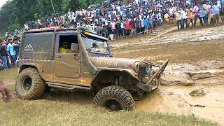 off road gone wrong stucked in mud-Thar fail-full video part-1