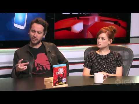 Evil Dead Interview Fede Alvarez and Jane Levy Comic-Con 2013540