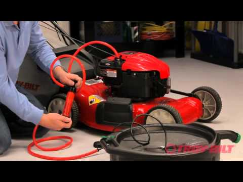 How To Change The Blade Troy Bilt Walk Behind Lawn Mower