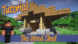 Minecraft Tutorials - Small wood Shed/Shack Addon Ps4/Xbox/PC/PE/Ps3