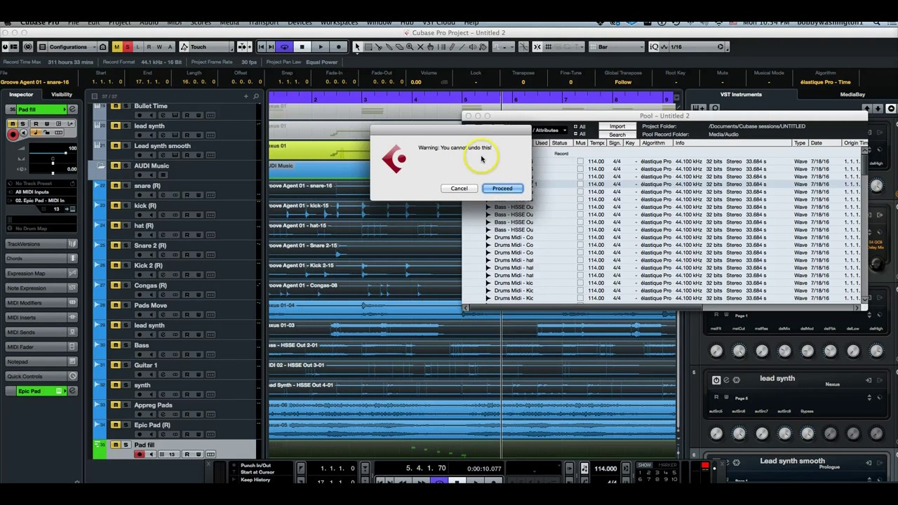 How to Change Stereo Audio Files To Mono In Steinberg Cubase 8