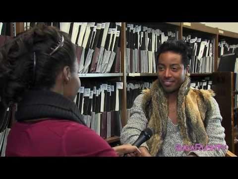 "sugaRushTV interviews Jeffrey Williams, winner of Bravo's ""The Fashion Show: Ultimate Collection"""