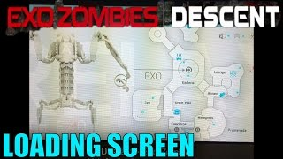 Exo Zombies: Descent - LOADING SCREEN LEAKED! - Map Size/Layout! (AW Reckoning)