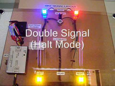 hqdefault double signal for bike youtube wiring diagram double pole switch at n-0.co