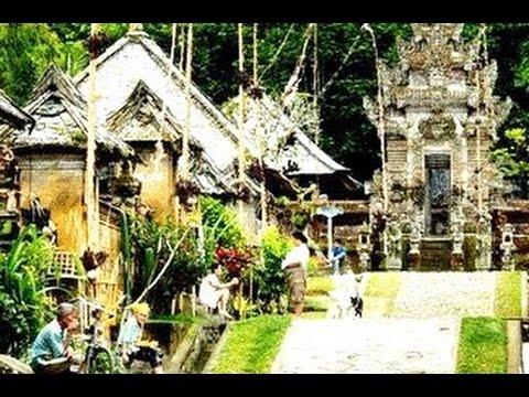 Desa Wisata Penglipuran Bangli Bali Age Tourism Destination Of Bali Indonesia Hd