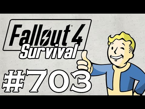 Let's Play Fallout 4 - [SURVIVAL - NO FAST TRAVEL] - Part 703 - Residential