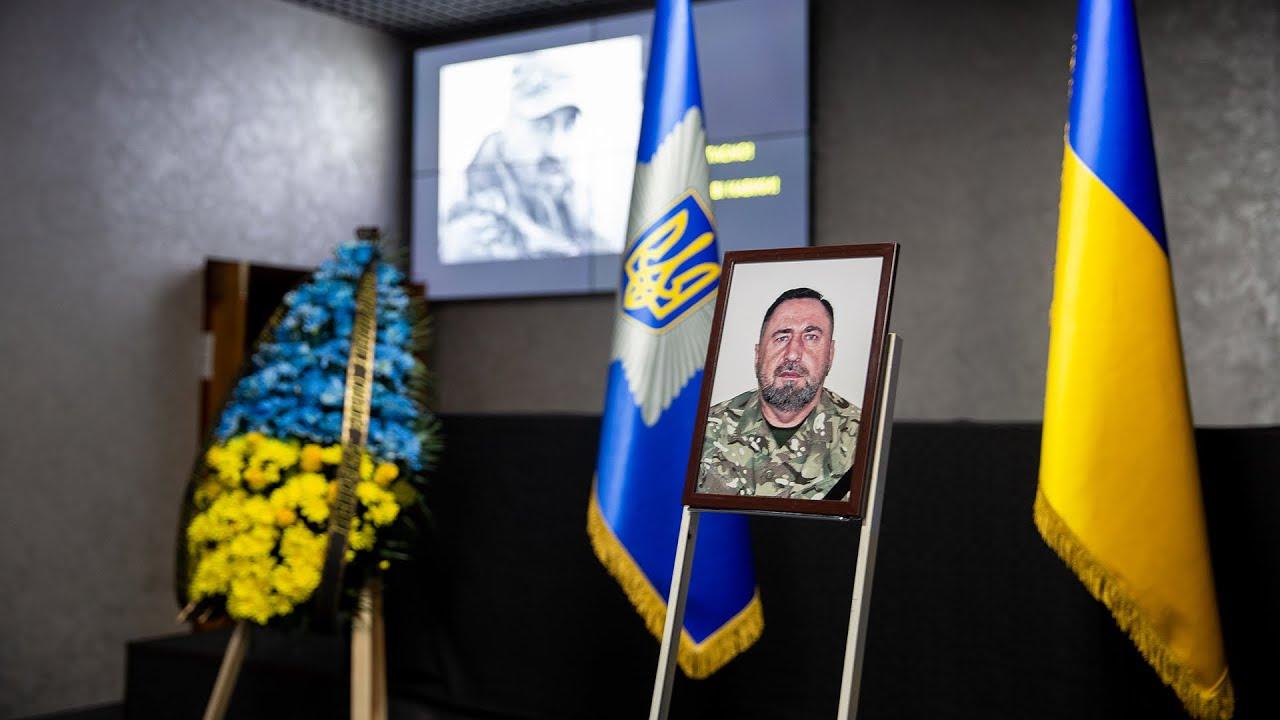 У МВС попрощалися з заступником командира окремого загону «Азов» Олександром Павлюком