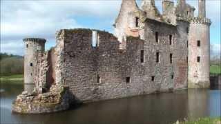 Caerlaverock Castle, Dumfries, Scotland