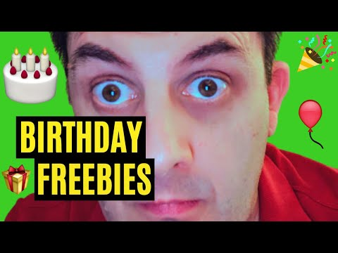 🎂HOW TO GET As MANY Birthday Freebies Australia 2020!