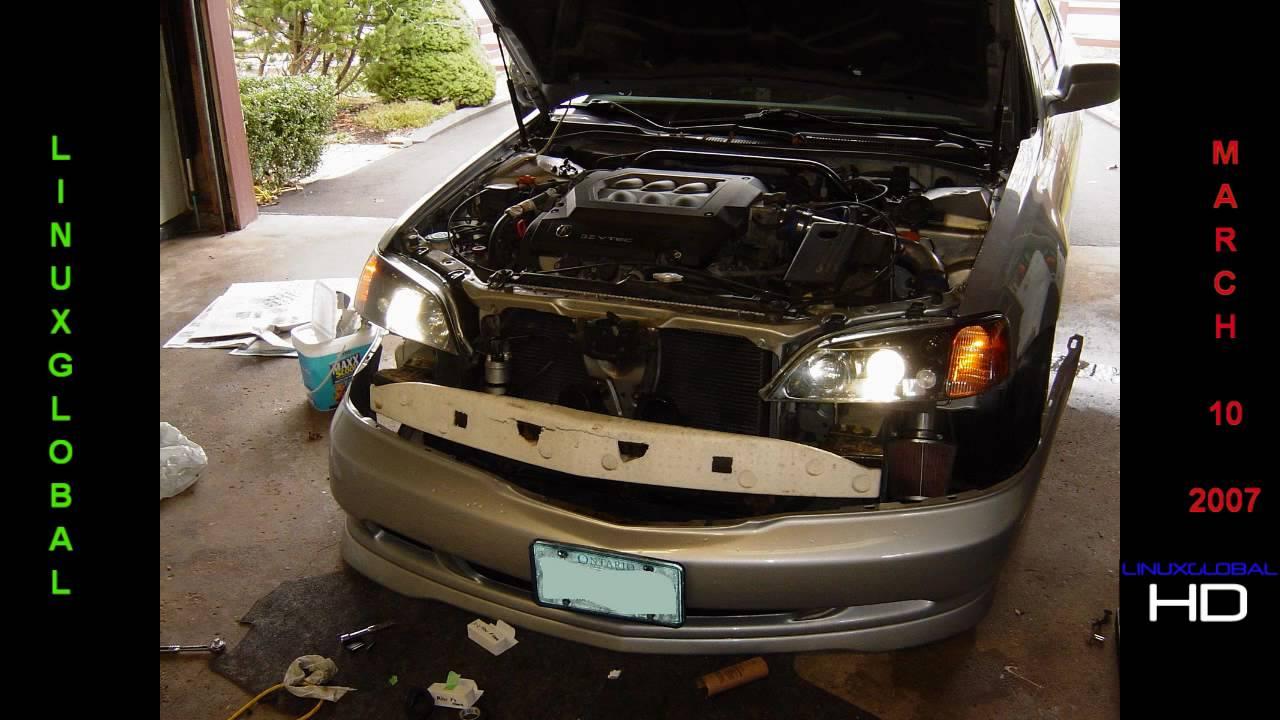 99 Acura TL Hid Headlight Retrofit