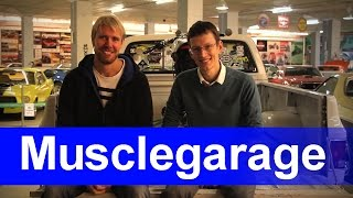 Выставка ретроавтомобилей Musclegarage.