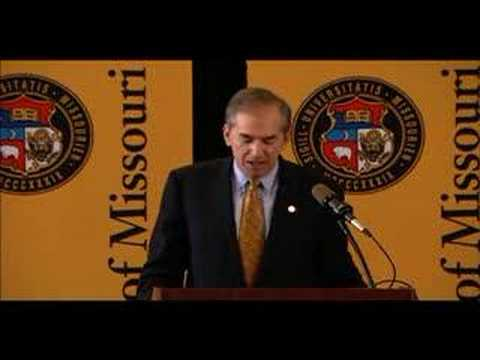 Gary D. Forsee part 1 public intro as Pres of the ...