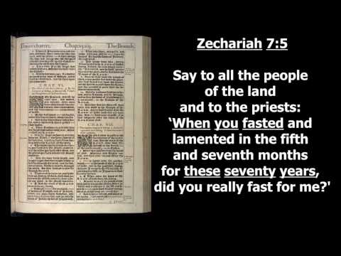 11. When Ancient Jerusalem was Destroyed: Biblical Evidence for 587586 BC