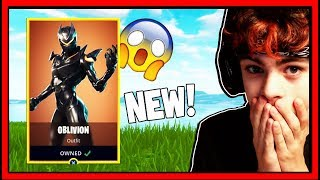 NIEUWE OBLIVION SKINNAA! FORTNITE BATTLE ROYALE