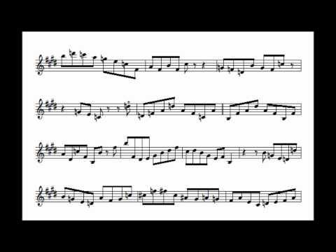 Chris Potter's Tune-Up Transcription