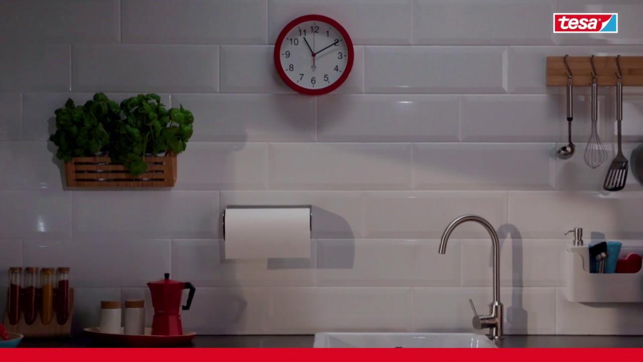 Clavo adhesivo para azulejos hasta 3kg tesa youtube - Adhesivo para azulejos ...