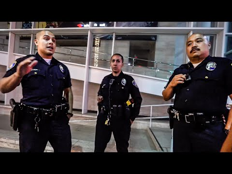 BEVERLY HILLS POLICE UNLAWFUL INTIMIDATION  TACTICS UPDATE!!