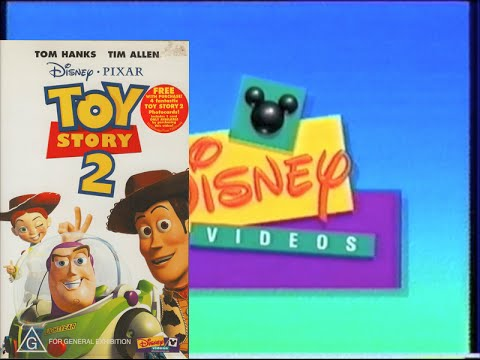 Opening & Closing to Toy Story 2 2000 VHS (Australia