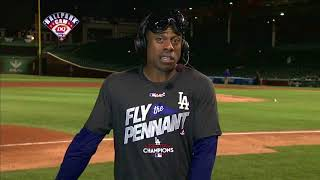Curtis Granderson Postgame Interview | Dodgers vs Cubs Game 5 NLCS