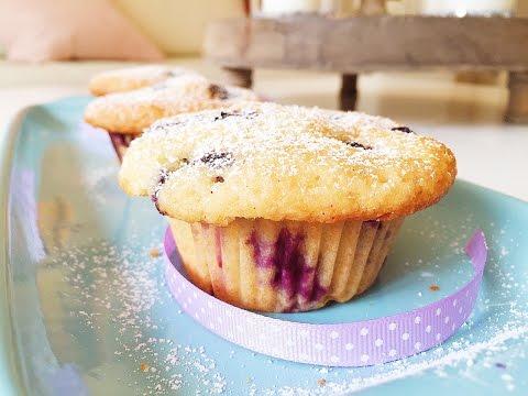 Saftige Blaubeer Muffins / Blueberry Muffin