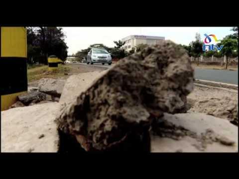 Download KeNHA dismantles county footpaths along Mombasa Road