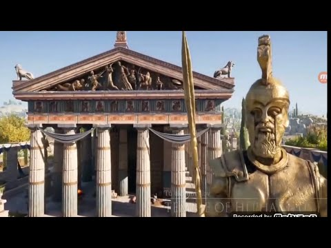 ANCIENT ATHENS.  Bronze Age / Classical Greece.  3D Animated.