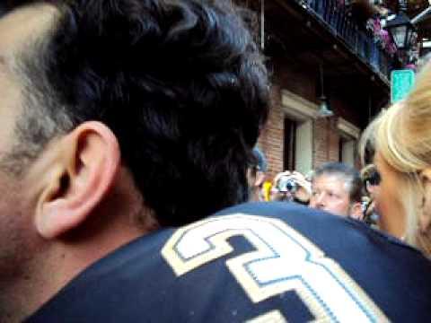 New Orleans Saints Quarter Back BOBBY HEBERT