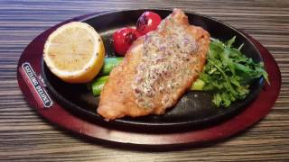 Restaurant-Loungebar Sizzling Deluxe : Sizzling Fish Dish
