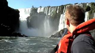 Speedboating Under Iguazu Falls (AWESOME!!)