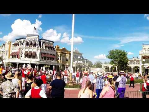 Flag Retreat Ceremony - Magic Kingdom - Walt Disney World