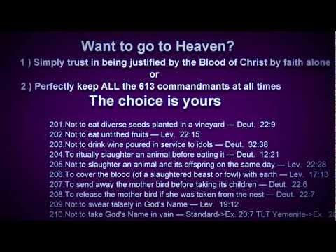 The 613 commandments of God - YouTube