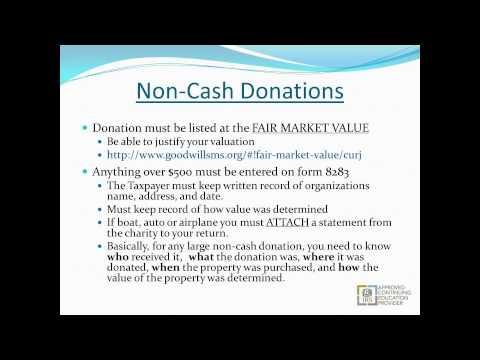 Itemized Deductions vs Standard Deductions