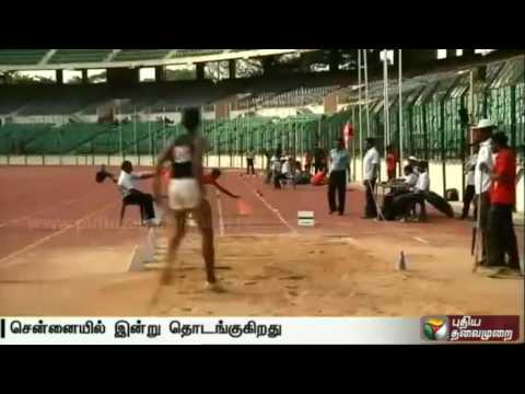State level Athletic meet in Chennai. Good performers  would participate at the national level