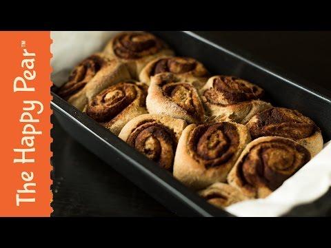 Vegan Cinnamon Swirls – Healthy Whole food Dessert