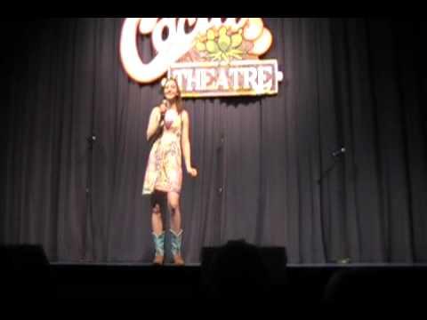 Maeci Scott singing Ingrid Michaelson's The Way I Am