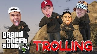 GTA 5 FUNNY MOMENTS #1 (TROLLING TEAM ALBOE)