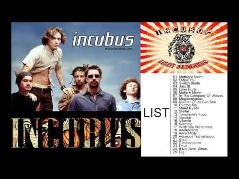 Incubus Greatest Hits- Best Incubus Songs