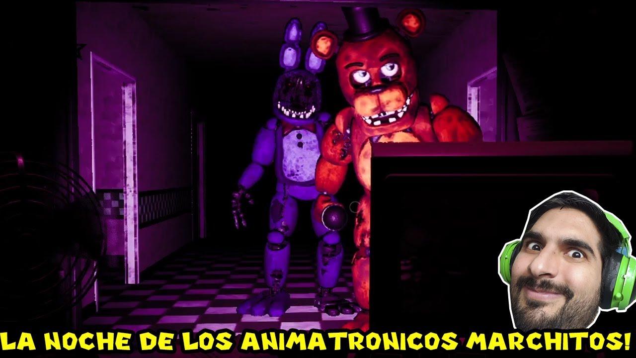 LA NOCHE DE LOS ANIMATRONICOS MARCHITOS... - Five Night's at Freddy's 7 con Pepe el Mago (#8)