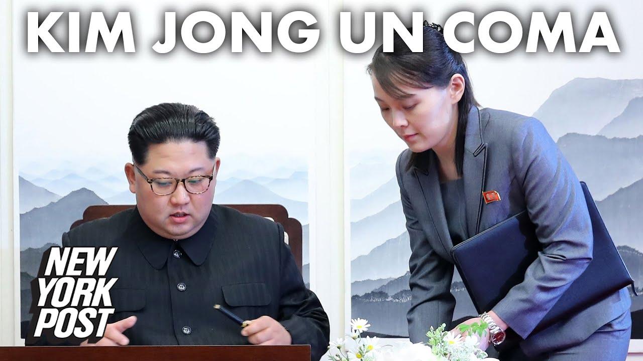 Kim Jong Un in a coma, ex-South Korean official says