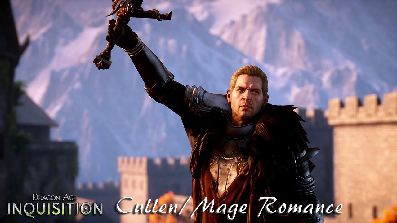 Dragon Age Inquisition Cullen Mage Romance Xbox One Youtube
