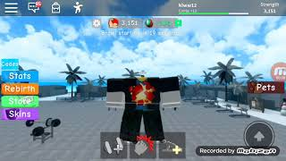 When strong in Roblox
