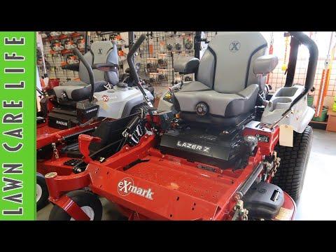 Exmark Zero Turn Lawn Mowers Overiew - Radius and Lazer Z