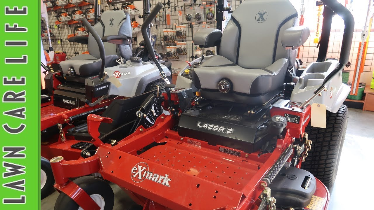 Exmark zero turn lawn mowers overiew radius and lazer z youtube exmark zero turn lawn mowers overiew radius and lazer z fandeluxe Image collections