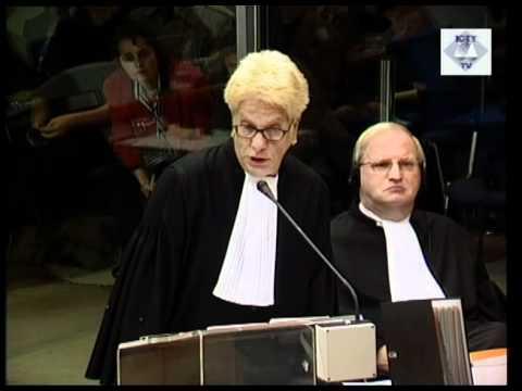 Initial Appearance - Milošević, Slobodan (Part 2/2) ( Session 1) - 29 October 2001