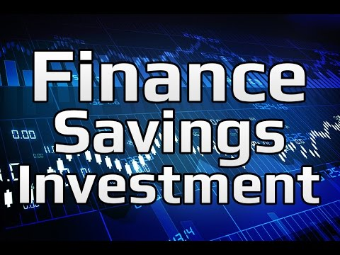 Financial Markets - Finance, Saving, and Investment (1/3) | Principles of Macroeconomics