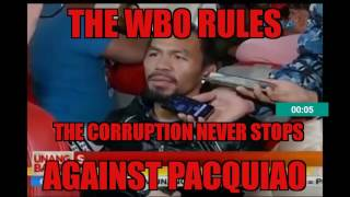 "WBO PACQUIAO VS HORN RESULTS"" BIG SURPRISE""...."
