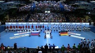 Германия - Россия. Квалификация на Чемпионат мира 2015.
